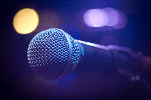 close up image of microphone